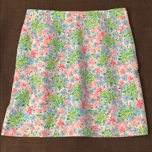 Lilly Pulitzer waffle weave skirt